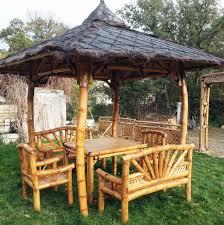tonnelle en bambou exemples de réalisations