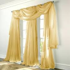 Gold Striped Curtains Elegance Voile Gold Sheer Curtain White And Gold Striped Shower