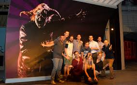 universal orlando close up halloween horror nights photo op
