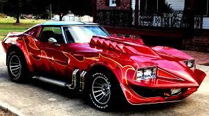 cleopatra jones corvette mgm cracked rear viewer