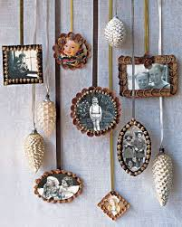 pinecone picture frame ornaments remove pinecone scales with small