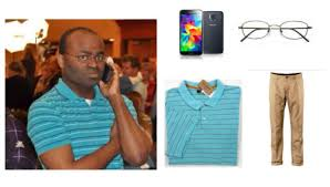 Black Guy With Glasses Meme - black guy holding a phone tumblr