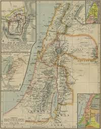 A New Map Of Jewish by The Main Eras Of Ancient Jewish History
