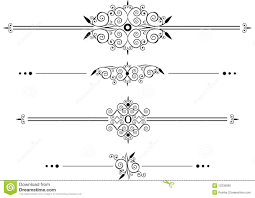 decorative rule lines royalty free stock image image 12235856