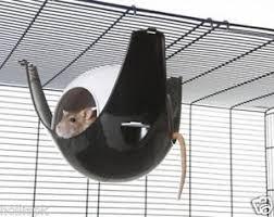 savic xl sputnik plastic rat house hanging hammock hooks on wire
