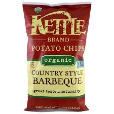 kettle foods organic potato chips country style barbeque 5 oz