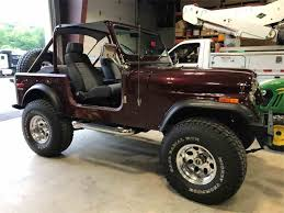 renegade jeep cj7 classic jeep cj7 for sale on classiccars com