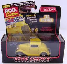 road champs 68600 1 43 scale diecast 1932 ford model b coupe