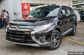 mitsubishi outlander 7 seater mitsubishi outlander 2 0 ckd now on sale u2013 rm140k