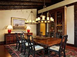 rustic wood molding dining room rustic with red table lamp rustic