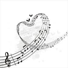 music notes heart beat clipart panda free clipart images
