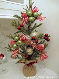 tabletop christmas tree tabletop christmas tree accenting the stairway