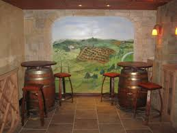 Wine Cellar Basement Unused Basement Becomes Stunning Wine Cellar Building Wine