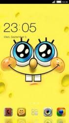 go launcher themes spongebob download free spongebob clauncher android mobile phone theme 1646