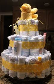 baby shower diaper cake tutorial clever housewife