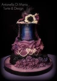 halloween birthday cake ideas burlesque halloween birthday cake cakecentral com