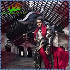 Quality Halloween Costumes Game Lol Darius Cosplay Costume Darius Cosplay Quality