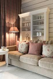 Arbeitsplatz Wohnzimmer Ideen Anbauwand Toskana Landhausstil Weiß Modern Wohnzimmer
