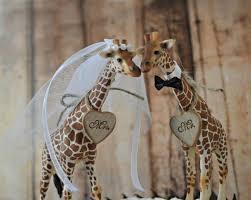 giraffe cake topper giraffe wedding cake topper jungle safari zoo circus themed