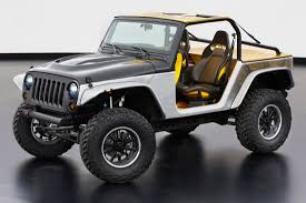 dark brown jeep jeep and mopar reveal six new concept vehicles cartype
