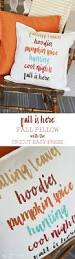 pillows are a simple way to decorate this fall is here fall