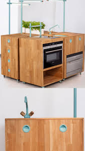 small kitchen space saving inspiring from multifunctional