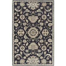 Navy Blue And Beige Area Rugs by Chenille Throw Navy Blue