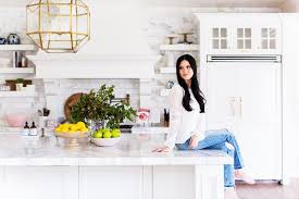 Rachel Parcell Home See The Bright Custom Designed Kitchen Of A Fashion Blogger