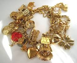 charm bracelet gold vintage images Antique gold bracelets beautiful vintage gold charm bracelet jpg