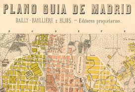 madrid spain map map of madrid 1905 spain espana maps and vintage prints