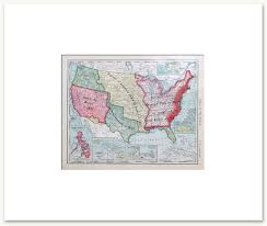 United States Territorial Growth Map by History Maps Vintage Maps