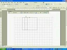 drawing a gridline in microsoft word 203 youtube