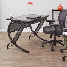 Contemporary Computer Desk Shop Office Star Horizon Contemporary Computer Desk At Lowes Com