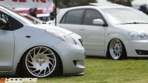 stanced toyota corolla hoodridesa united we roll