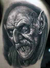 60 vampire tattoos for men bite into cool designs
