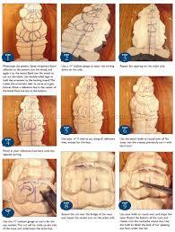 carving santa ornament wood carving patterns woodarchivist