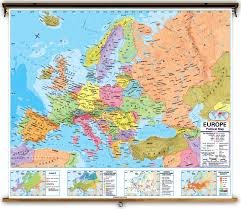 Map Of Modern Europe by Political Europe Map With Countries And Capitals Of Modern