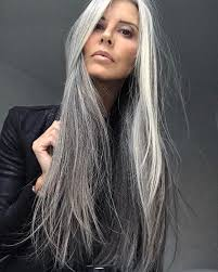 hairstyles for turning grey 84 best models with natural grey hair images on pinterest grey