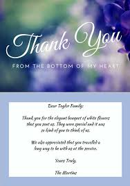33 best funeral thank you cards funeral note and bereavement