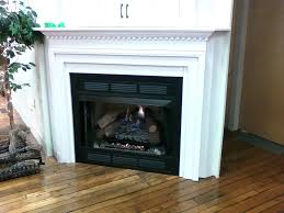 vent free gas fireplace logs with blower propane insert mantel