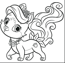 coloring pages pets coloring page palace pets coloring pages
