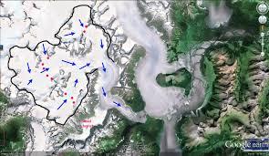 Juno Alaska Map by Norris Glacier Retreat Juneau Icefield Alaska From A Glacier U0027s