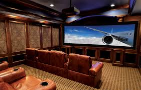 living room theaters black chairs furnished white wall paint color