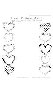 9 best images of preschool heart shape templates teddy bear