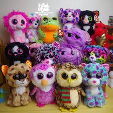 beanie boos big eyes classical cute plush toy elephant unicorn