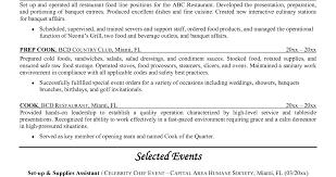 100 prep cook duties resume resume cooking resume captivating