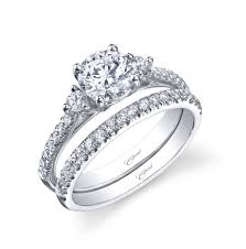 engagement and wedding ring sets coast diamond engagement and wedding ring set with 47 carats
