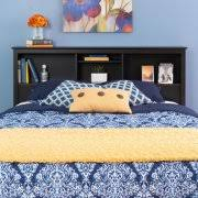 queen size bookcase headboard