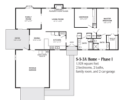 2 Story Apartment Floor Plans Two Car Garage Apartment Floor Plans
