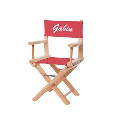 chaise metteur en chaise metteur en scène enfant ma chaise